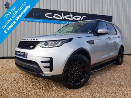 USED 2017 17 LAND ROVER DISCOVERY 2.0 SD4 HSE LUXURY 5d 237 BHP