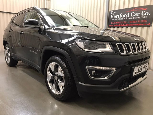 2019 19 JEEP COMPASS 1.4 MULTIAIR II LIMITED 5d 138 BHP