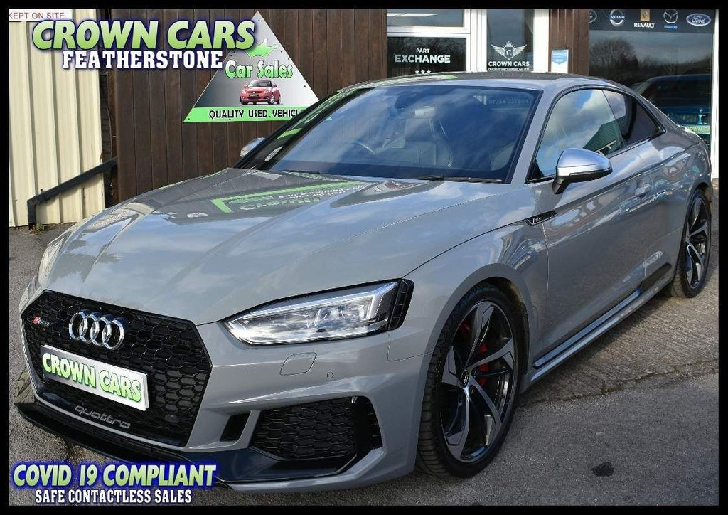 USED 2018 AUDI A5 2.9 TFSI V6 Tiptronic quattro (s/s) 2dr ABSOLUTELY STUNNING EXAMPLE