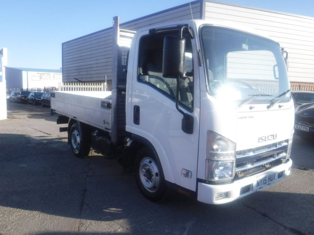 USED 2015 15 ISUZU TRUCKS GRAFTER 3.0 N35.120S 120 BHP *** FINANCE & PART EXCHANGE WELCOME *** 1 OWNER FROM NEW + VAT  DROP SIDE FLAT BED ELECTRIC WINDOWS REMOTE CENTRAL LOCKING