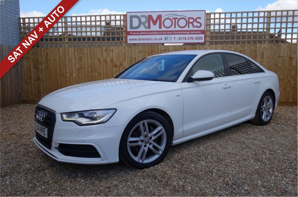 USED 2014 14 AUDI A6 2.0 TDI ULTRA S LINE 4d 188 BHP *** 6 MONTHS NATIONWIDE GOLD WARRANTY ***