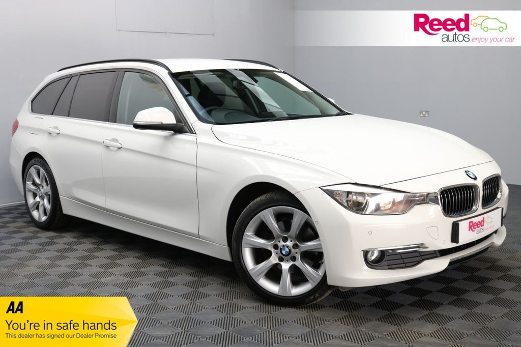 USED 2015 15 BMW 3 SERIES 2.0 320D LUXURY TOURING 5d 181 BHP HEATED LEATHER SEATS+ADVANCE PARKING PACKAGE+SATNAV+AUTOMATIC LIGHTS/WIPERS+VOICE CONTROL