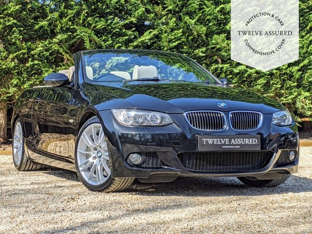 USED 2008 08 BMW 3 SERIES 3.0 330I M SPORT 2d AUTO 269 BHP CONVERTIBLE