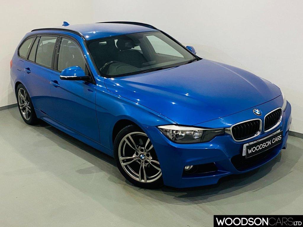USED 2013 13 BMW 3 SERIES 2.0 320D M SPORT TOURING 5d 181 BHP DAB Radio / Leather Interior / Aux / USB / Isofix
