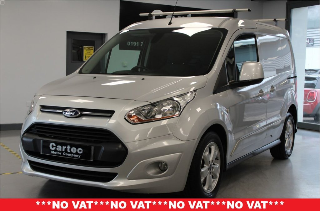USED 2015 65 FORD TRANSIT CONNECT 1.6 200 LIMITED P/V 114 BHP **HEATED DRIVERS SEAT**