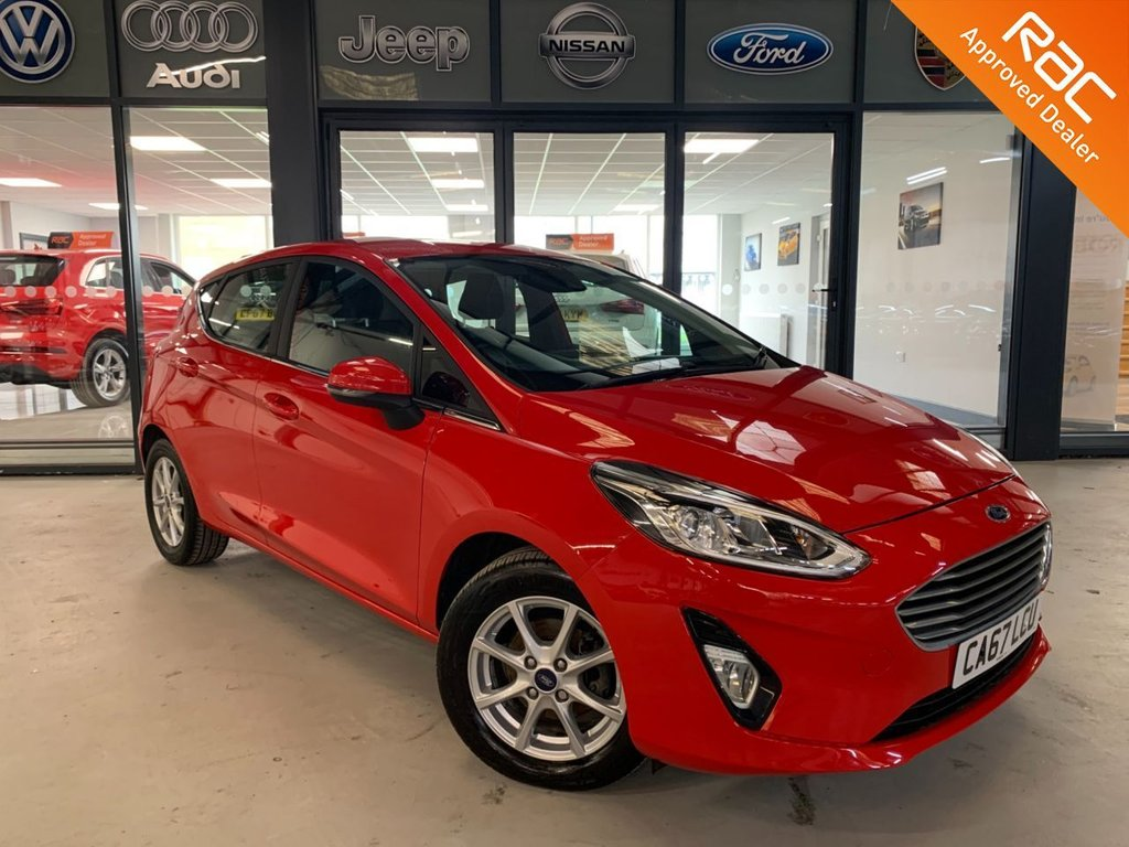 USED 2018 67 FORD FIESTA 1.1 ZETEC 5d 85 BHP Complementary 12 Months RAC Warranty and 12 Months RAC Breakdown Cover Also Receive a Full MOT With All Advisory Work Completed, Fresh Engine Service and RAC Multipoint Check Before Collection/Delivery