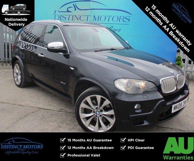 USED 2008 08 BMW X5 3.0 SD M SPORT 5d 282 BHP