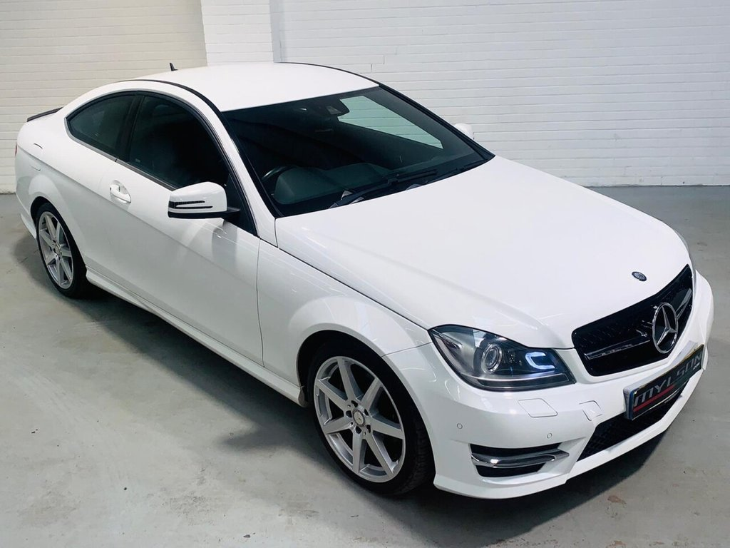 USED 2013 13 MERCEDES-BENZ C-CLASS 2.1 C250 CDI BLUEEFFICIENCY AMG SPORT 2d 204 BHP AMG Pack, 18in Wheels, Leather Trim, Bluetooth