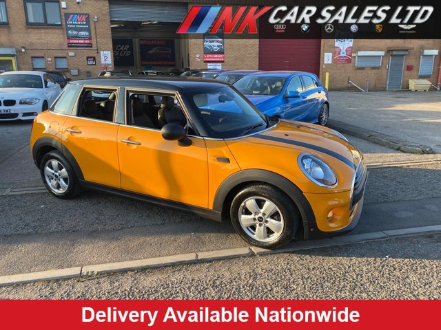 2017 66 MINI HATCH ONE 1.2 ONE 5d 101 BHP ONLY DONE 9000 MILES 1 OWNER FROM NEW FULLBLACK LEATHER