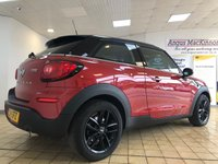 USED 2014 14 MINI PACEMAN 1.6 Cooper 3dr 4 Seat Petrol Auto Stunning in Red with Chili Pack and Media Pack. Recent Service & MOT with 2 New Tyres. Ready to Finance & Drive Away Today. 1 Former Keeper + Mini Service History