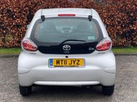USED 2011 11 TOYOTA AYGO 1.0 VVT-I ICE 5d 68 BHP * IDEAL FIRST CAR * ECONOMICAL * LOW INSURANCE GROUP *