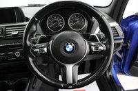 USED 2014 64 BMW 1 SERIES 3.0 M135I 5d 316 BHP AUTOMATIC, HEATED LEATHER, BLUETOOTH, DAB, TINTED GLASS, SUNROOF, LOW MILES...
