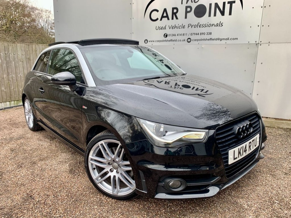USED 2014 14 AUDI A1 1.4 TFSI BLACK EDITION 3d 185 BHP