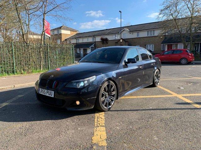 2005 55 BMW 5 SERIES 3.0 530D M SPORT 4d 228 BHP