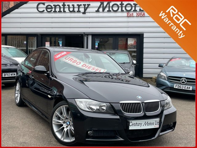 2008 08 BMW 3 SERIES 3.0 325D M Sport 195 4dr - LEATHER