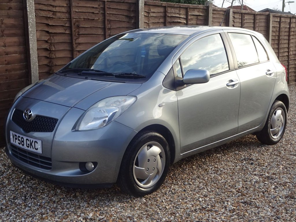 USED 2008 58 TOYOTA YARIS 1.3 VVT-I T3 AUTOMATIC 5DOOR **LOW MILEAGE SMALL AUTOMATIC**12 MONTHS MOT**6 MONTHS WARRANTY**
