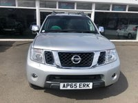 USED 2015 65 NISSAN NAVARA 3.0 OUTLAW DCI 4X4 4dr 5 Seat Double Cab Pickup 4x4 AUTO With Huge Spec inc Rear Canopy Side Steps Towbar Roof Rails with Very Low Mileage plus Recent Service & MOT Now Ready to Finance and Drive Away Today.  Low Mileage for Its Age
