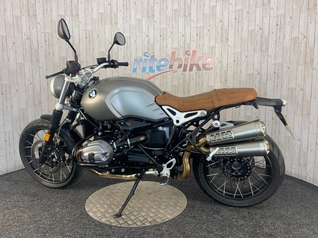 BMW R NINET SCRAMBLER at Rite Bike
