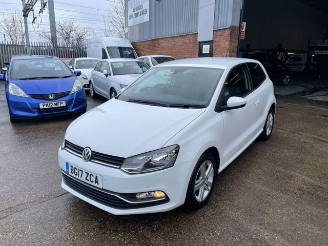 USED 2017 17 VOLKSWAGEN POLO 1.2 MATCH EDITION TSI 3d 89 BHP