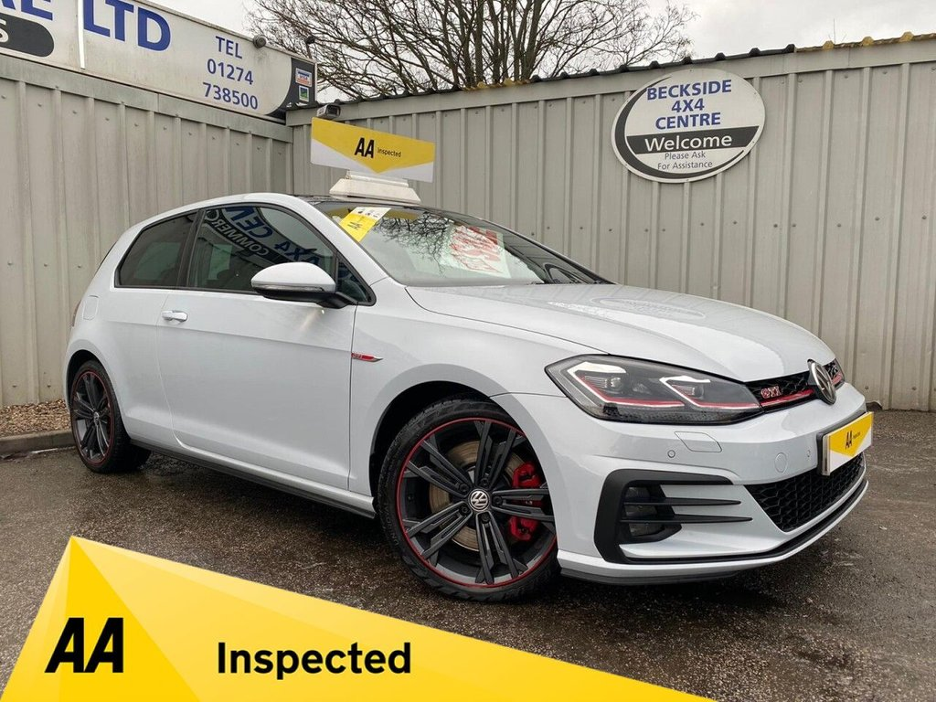 USED 2018 68 VOLKSWAGEN GOLF 2.0 GTI PERFORMANCE TSI DSG 3d 242 BHP AA INSPECTED. FINANCE. WARRANTY. HIGH SPEC. LOW MILEAGE.