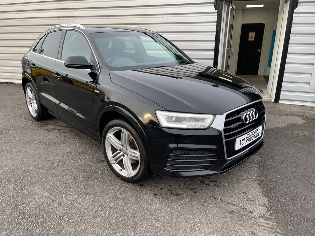 USED 2015 F AUDI Q3 2.0 TDI QUATTRO S LINE PLUS 5d 182 BHP PLEASE WATCH OUR 4K VIDEO