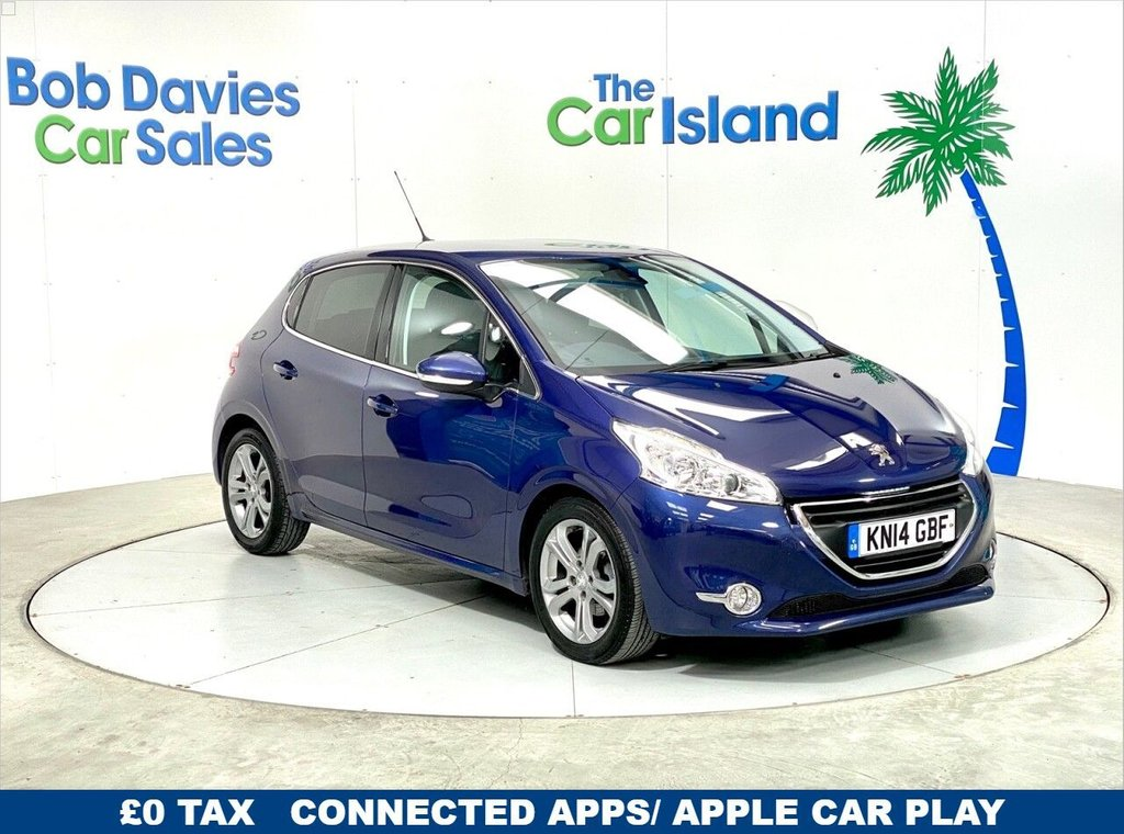 USED 2014 14 PEUGEOT 208 1.6 ALLURE E-HDI 5d 92 BHP Peugeot connect with USB and bluetooth, DAB Radio 37000 miles