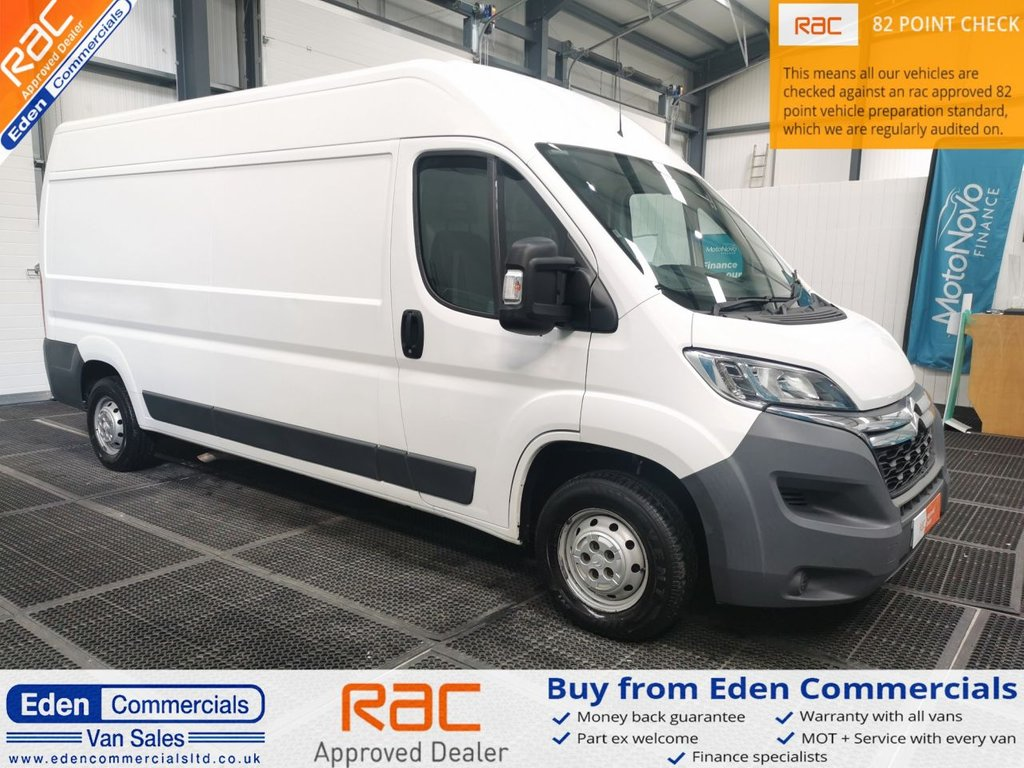 USED 2016 65 CITROEN RELAY 2.2 35 L3H2 ENTERPRISE HDI 5d 129 BHP