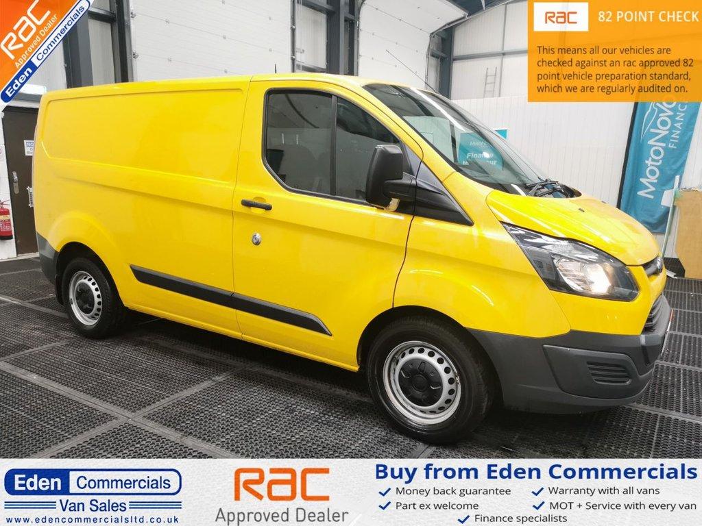 USED 2016 66 FORD TRANSIT CUSTOM 2.0 340 129 BHP * TAILGATE + AIR CON *