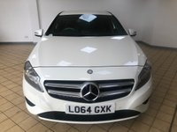 USED 2014 64 MERCEDES-BENZ A-CLASS 1.5 A180 CDI BLUEEFFICIENCY SPORT 5d 5 Seat Family Hatchback Stunning in White. Recent Service including Air Filter, MOT, & New Battery. Now Ready to Finance & Drive Away Today.  Fantastic Full Service History