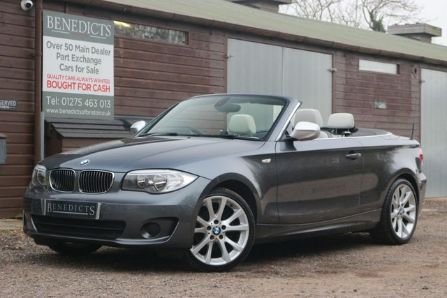 2012 12 BMW 1 SERIES 2.0 118D EXCLUSIVE EDITION 2d 141 BHP