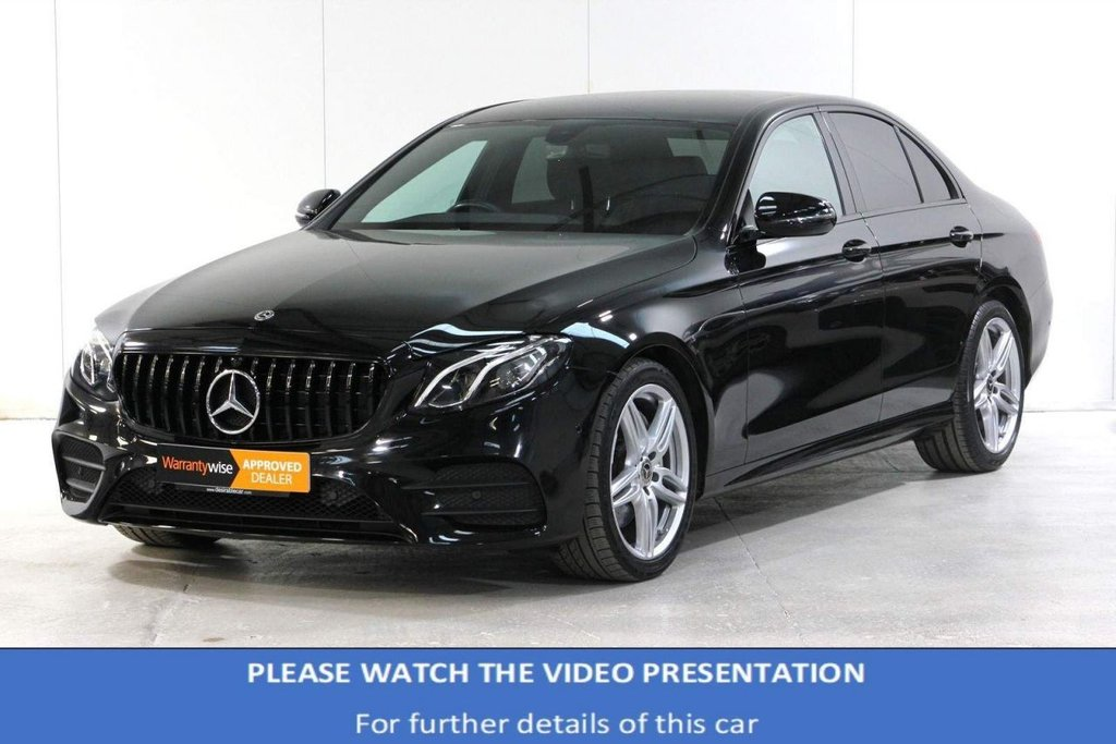 USED 2018 68 MERCEDES-BENZ E-CLASS 2.0 E200 AMG Line G-Tronic+ (s/s) 4dr VAT Q*REVERSE CAM*HEATED SEATS