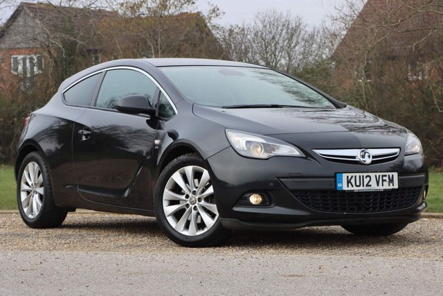 USED 2012 12 VAUXHALL ASTRA GTC 1.6T 16V SRi 3dr 1 FR.KEEPER+JUST SERVICED