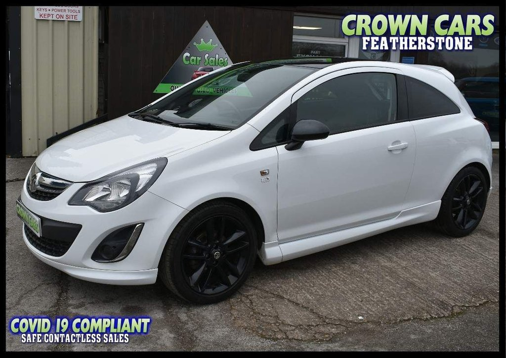 USED 2014 64 VAUXHALL CORSA 1.2 i 16v Limited Edition 3dr (a/c) EXCEPTIONAL LOW MILEAGE CORSA