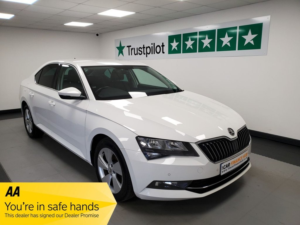 USED 2016 66 SKODA SUPERB 1.6 SE TECHNOLOGY TDI 5d 118 BHP
