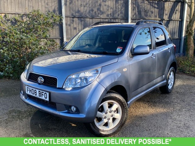 USED 2008 08 DAIHATSU TERIOS 1.5 SE 5d 104 BHP 4WD 4X4 AUTO, VERY LOW MILES, UK DELIVERY POSSIBLE