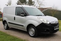 USED 2012 12 VAUXHALL COMBO 1.2 2000 L1H1 CDTI S/S ECOFLEX 90 BHP NO VAT - SILVER - ECOFLEX - READY TO GO -