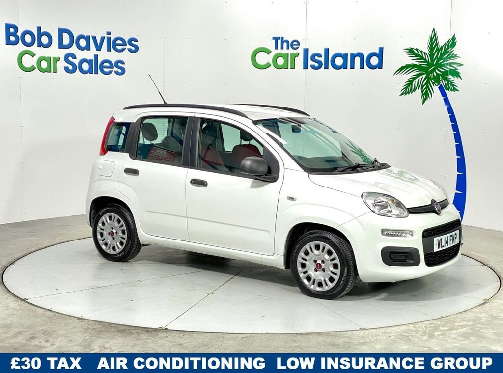 USED 2014 14 FIAT PANDA 1.2 EASY 5d 69 BHP Wonderful low mileage runabout with £30 tax