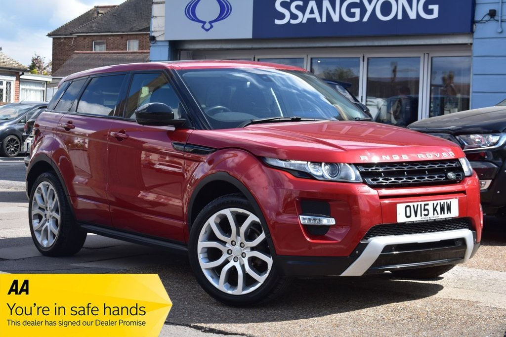 USED 2015 15 LAND ROVER RANGE ROVER EVOQUE 2.2 SD4 DYNAMIC LUX 5d 190 BHP AUTOMATIC AVAILABLE FOR £419 PER MONTH £0 DEPOSIT