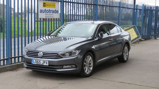 USED 2015 65 VOLKSWAGEN PASSAT 2.0 SE BUSINESS TDI BLUEMOTION TECHNOLOGY 4d 148 BHP SatNav, Just £20 Tax, Front and Rear Parking Sensors