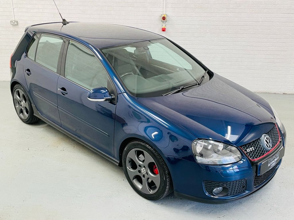 USED 2008 08 VOLKSWAGEN GOLF 2.0 GTI 5d 197 BHP HEATED LEATHER, PDC, STEREO UPGRADE INC BLUETOOTH AND DAB, FINANCE AVAILABLE