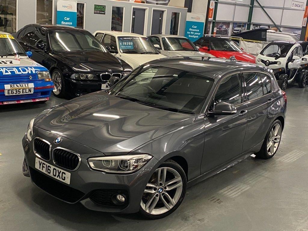 USED 2016 16 BMW 1 SERIES 1.5 116D M SPORT 5d 114 BHP Sat Nav, DAB, Rear PDC, BTooth