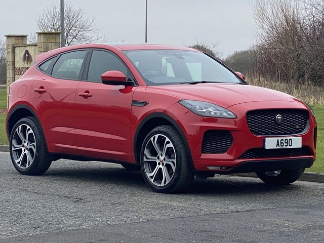 USED 2018 67 JAGUAR E-PACE 2.0 LIMITED FIRST EDITION 5d 178 BHP AUTO Premium Limited Edition