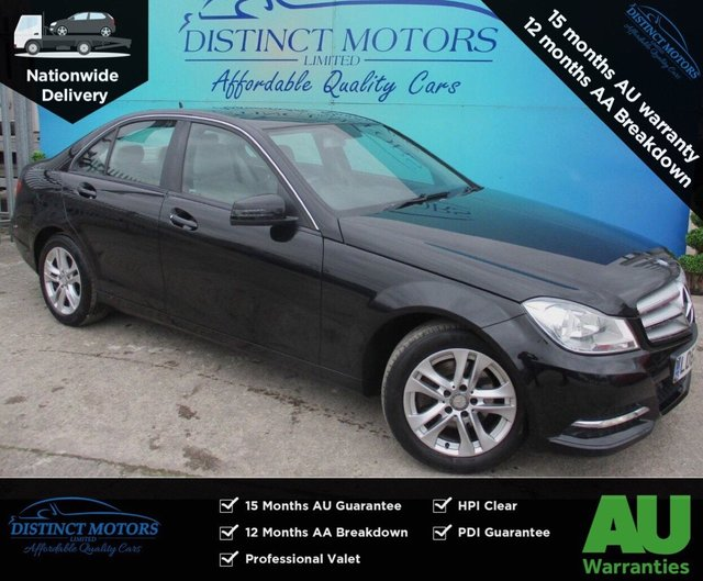 USED 2012 62 MERCEDES-BENZ C-CLASS 2.1 C220 CDI BLUEEFFICIENCY EXECUTIVE SE 4d 168 BHP