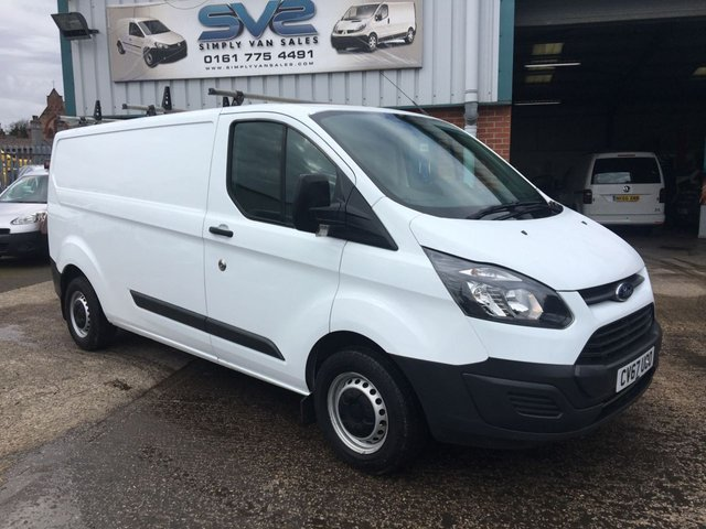 USED 2017 67 FORD TRANSIT CUSTOM 290 L2 H1 LWB LOW ROOF 1 OWNER **EURO 6** VERY CLEAN