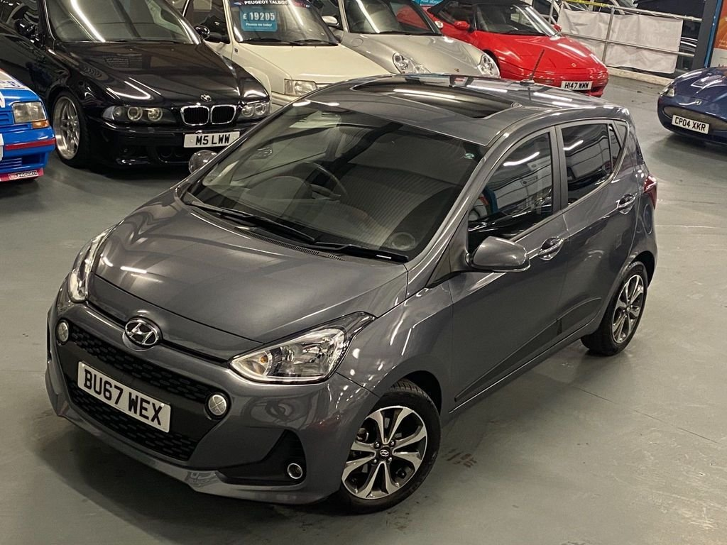 USED 2017 67 HYUNDAI I10 1.2 PREMIUM SE 5d 86 BHP 1 Lady Owner From New, Sunroof
