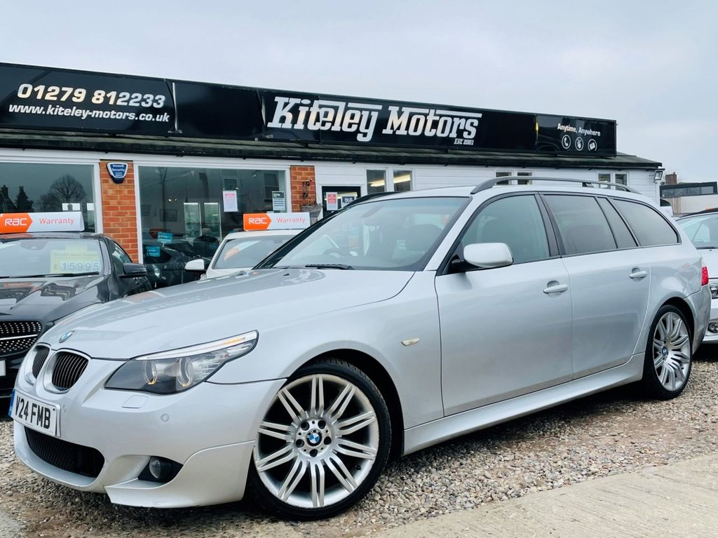USED 2009 V BMW 5 SERIES 3.0 525D M SPORT BUSINESS EDITION TOURING 5d 195 BHP
