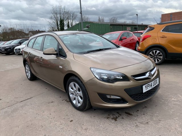USED 2014 14 VAUXHALL ASTRA 1.6 DESIGN 5d 115 BHP FULL SERVICE HISTORY