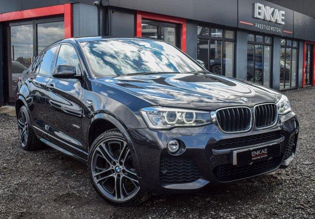 2015 15 BMW X4 2.0 XDRIVE20D M SPORT 4d 188 BHP
