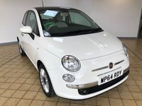 USED 2015 64 FIAT 500 1.2 LOUNGE 3d 4 Seat Petrol Hatchback Low Tax Low Insurance Cheap to Run Recent Service & MOT, 2 New Tyres & Front Brake Pads. Now Ready to Finance and Drive Away Today. The prefect first car or run around1