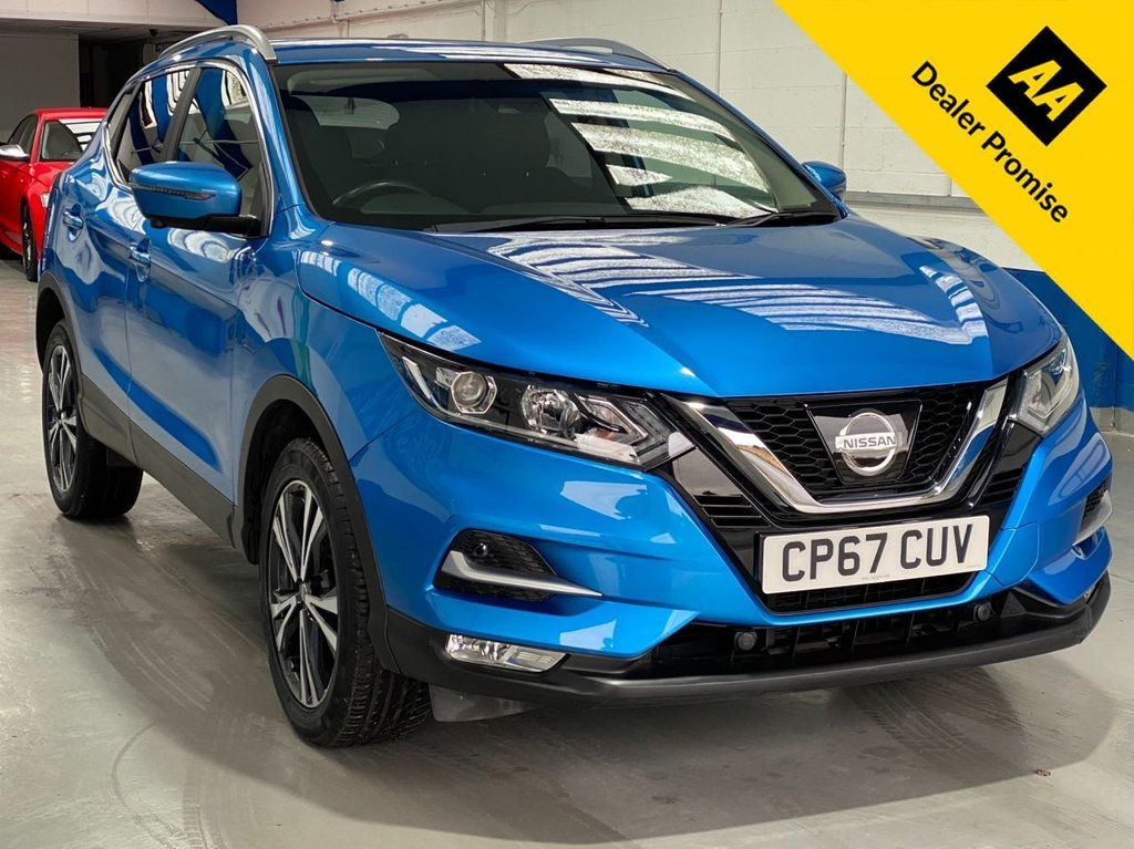 USED 2017 67 NISSAN QASHQAI 1.5 N-CONNECTA DCI 5d 108 BHP FULL SERVICE HISTORY---1 OWNER